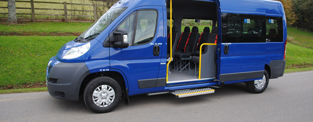 Minibus Leasing For Charities